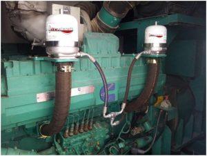 Bypass Oil Centrifuge System