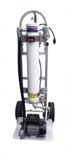 economical fuel polishing and fuel water removal